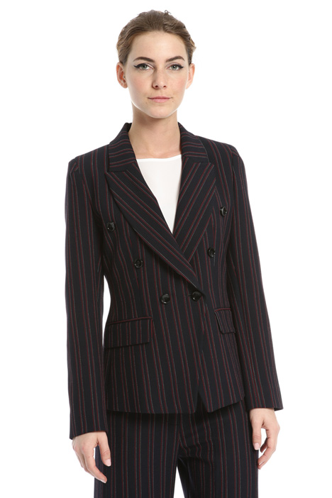 Yarn-dyed blazer Intrend