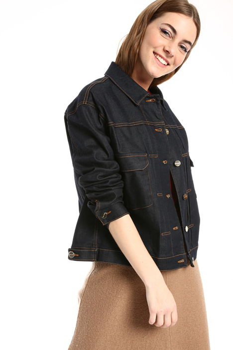 Oversized denim jacket Intrend