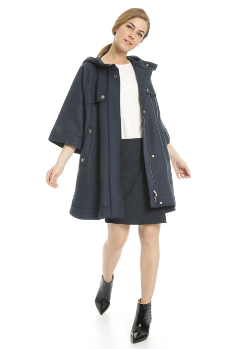 Felted wool parka jacket Intrend