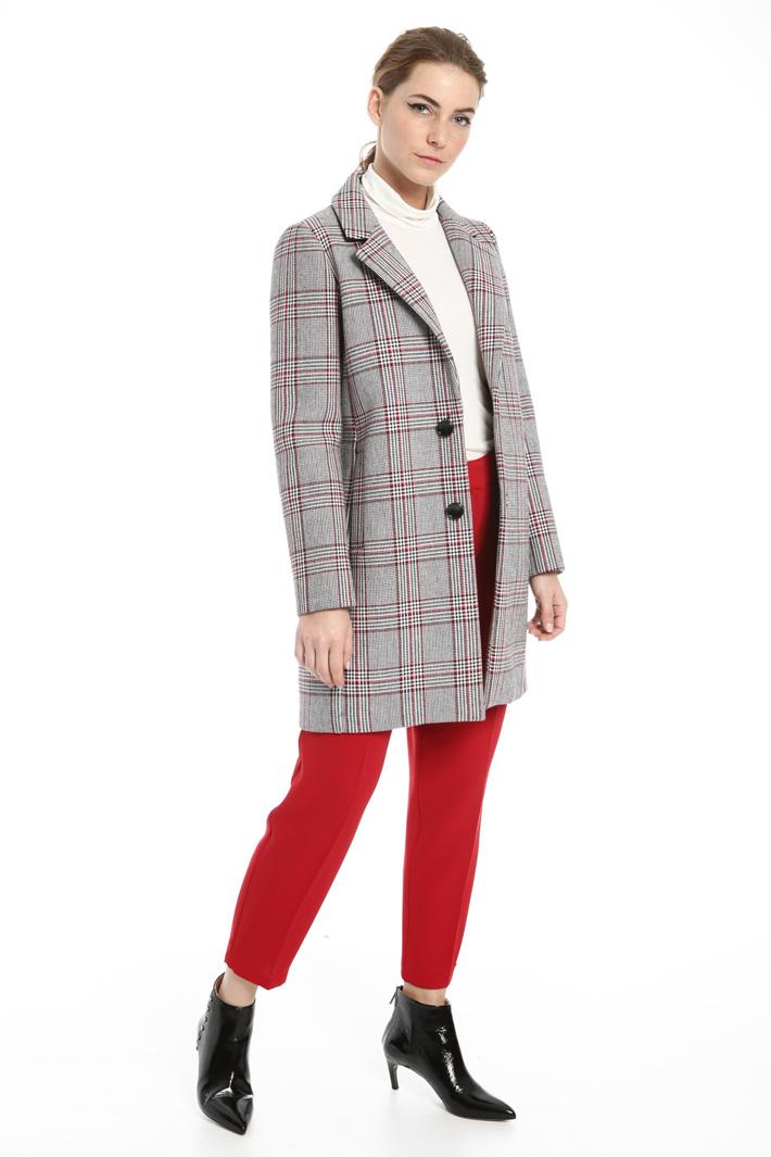 Bonded fabric coat Intrend