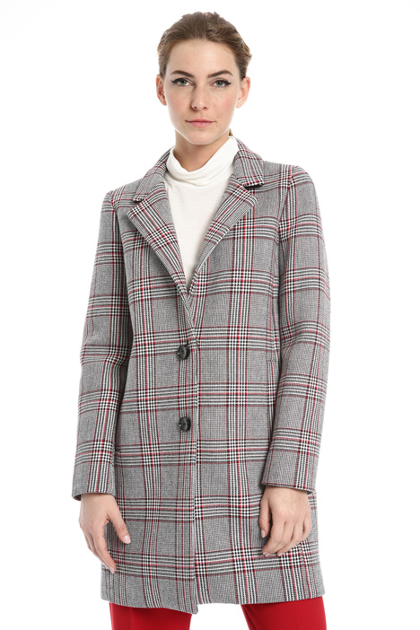 Bonded fabric coat Intrend