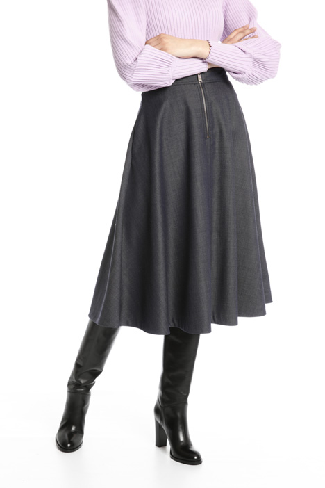 Pure wool midi skirt Intrend