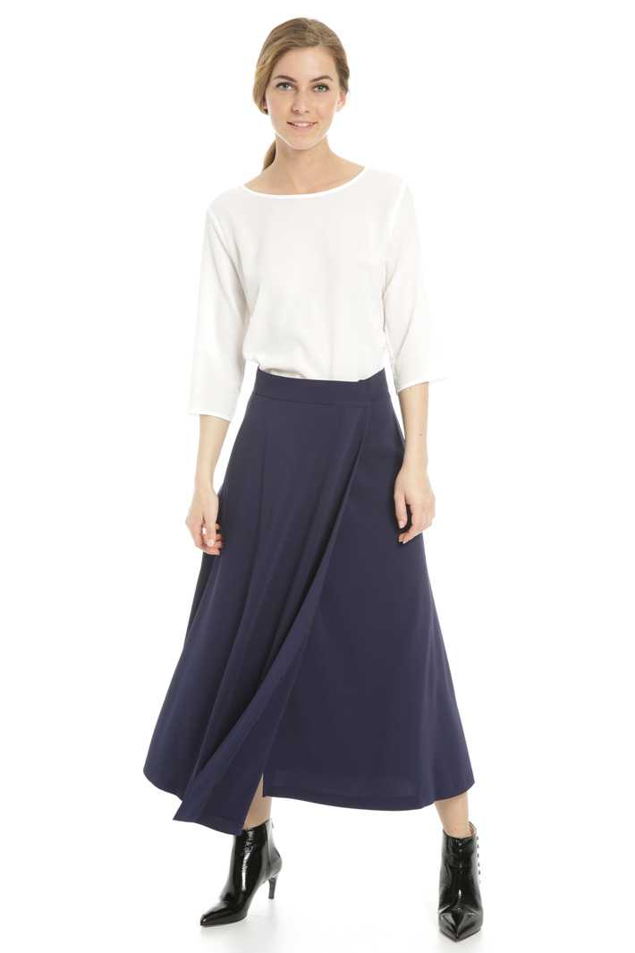 Skirt with overlay panels Intrend
