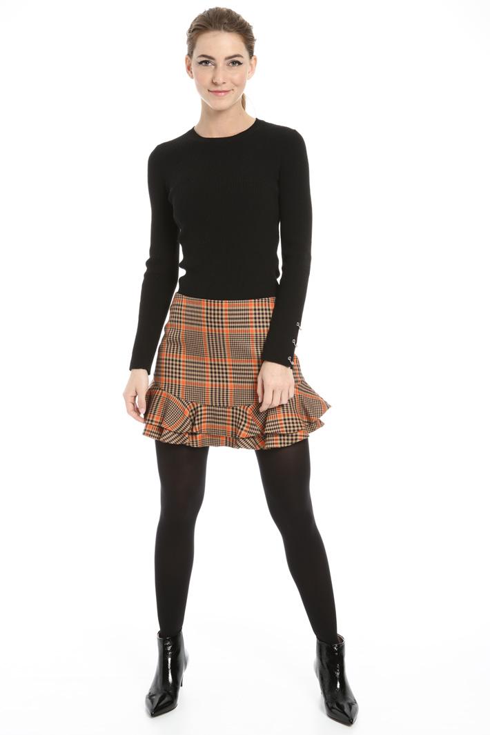 Pleated mini-skirt Intrend
