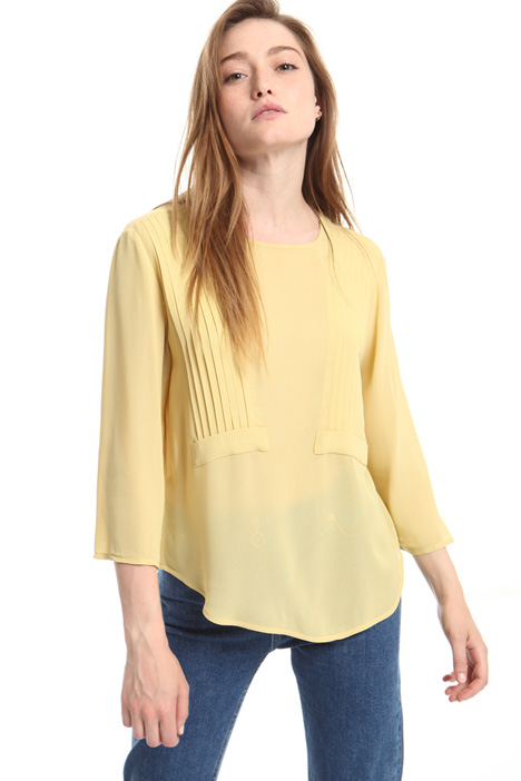 Viscose crepe blouse Intrend
