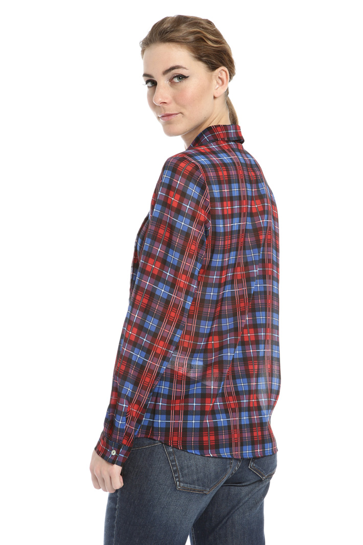 Printed georgette shirt Intrend