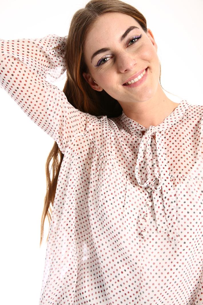 Silk creponne blouse Intrend