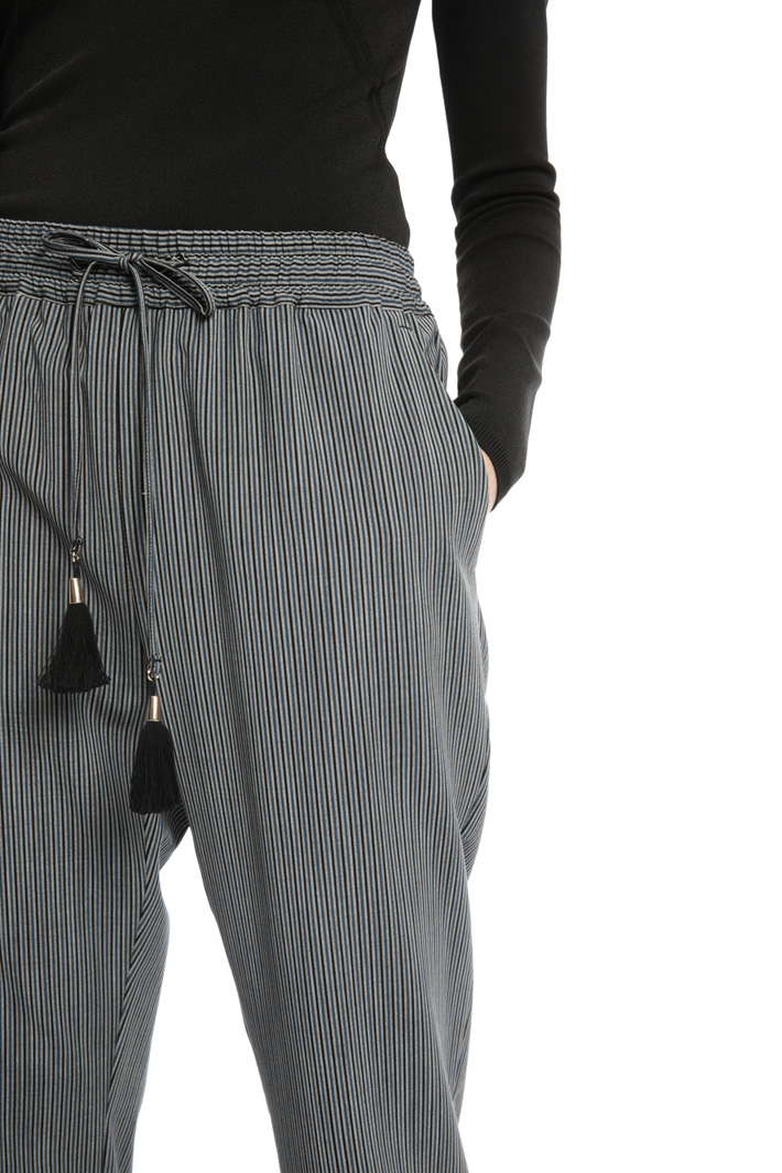Soft wool trousers Intrend