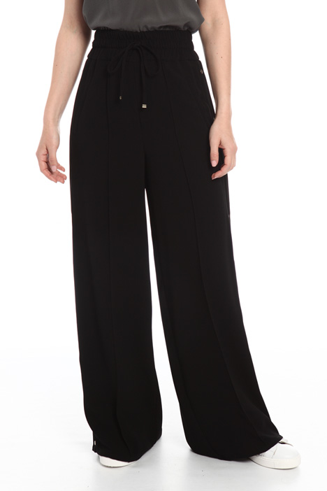 Trousers with side buttons Intrend