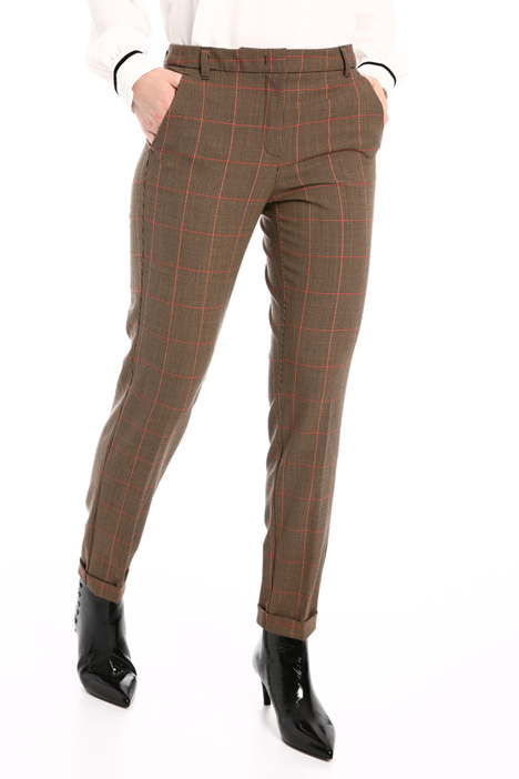 Technical wool trousers  Intrend