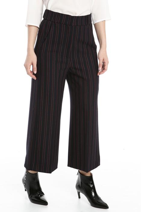 Pantalone cropped tinto filo Intrend