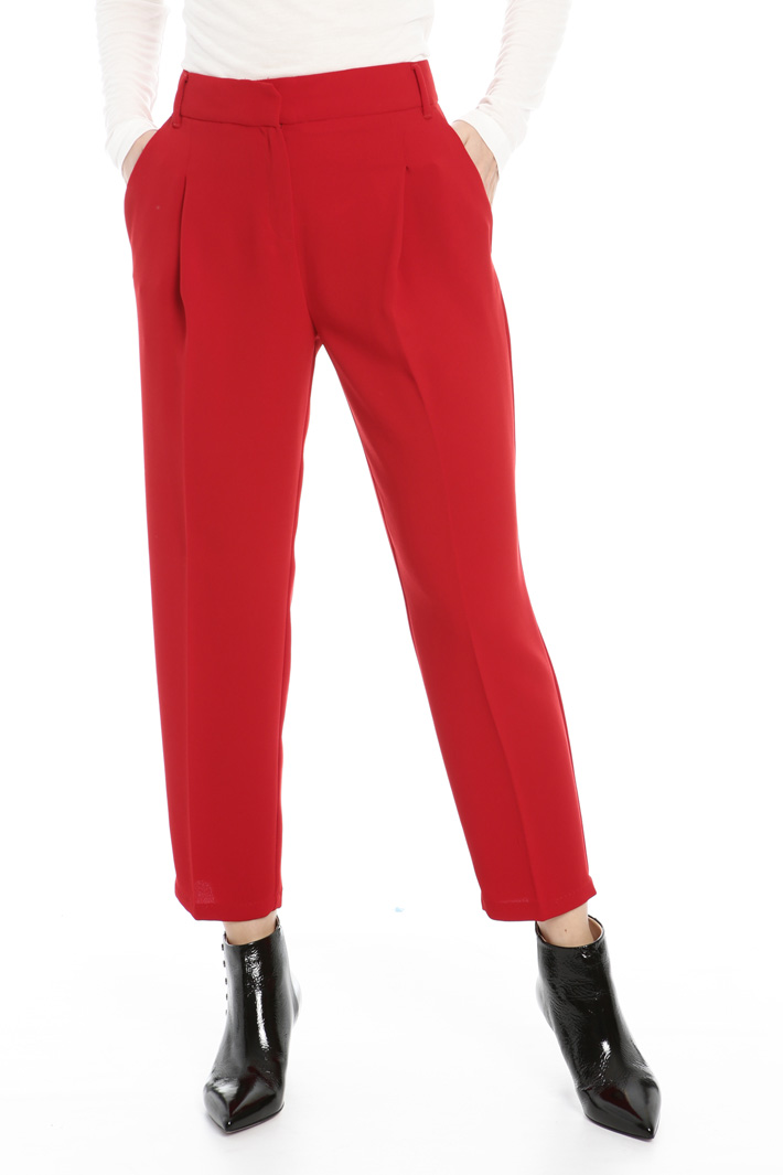 Fluid sablé trousers  Intrend