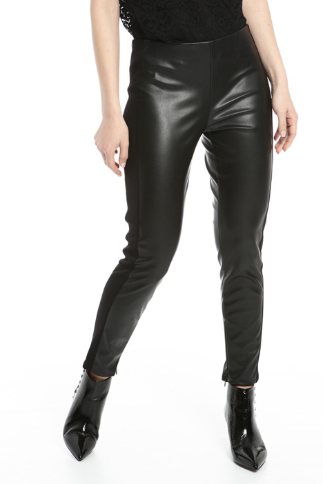 Coated leggings Intrend