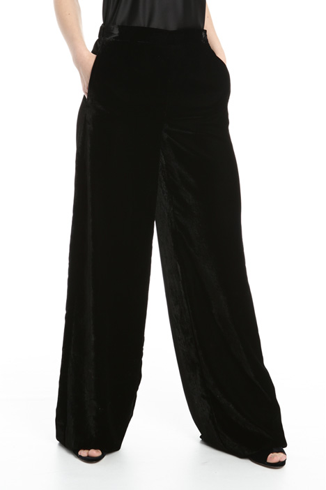 Panne velvet trousers Intrend