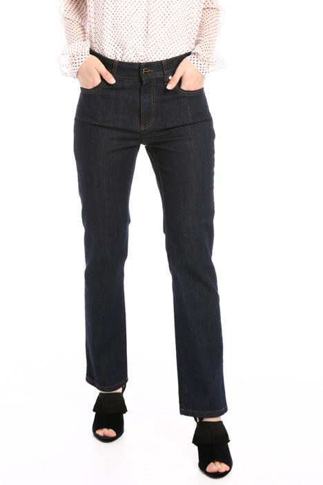Straight denim trousers  Intrend