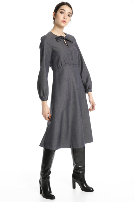 Wool midi dress Intrend