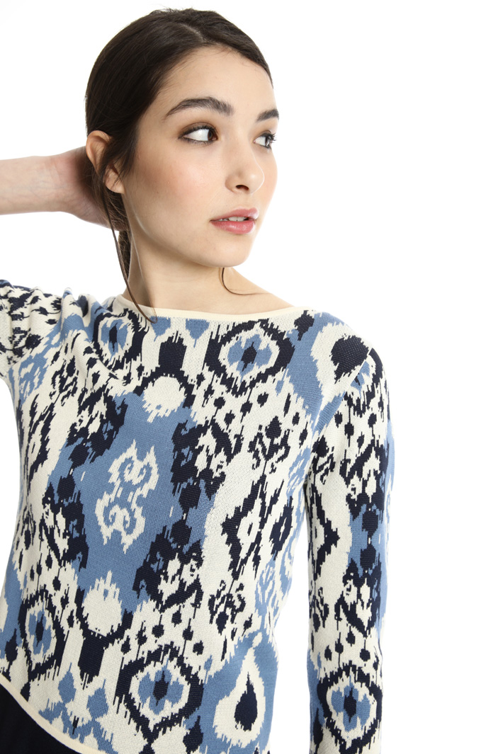 Dress with matching sweater Intrend