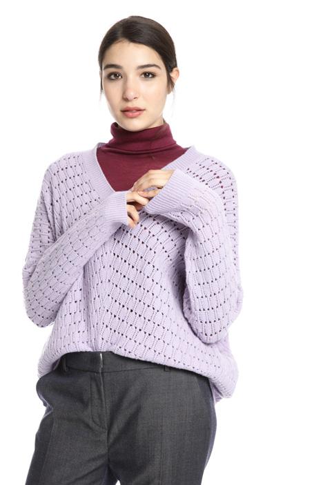 Wool kimono sleeve sweater Intrend