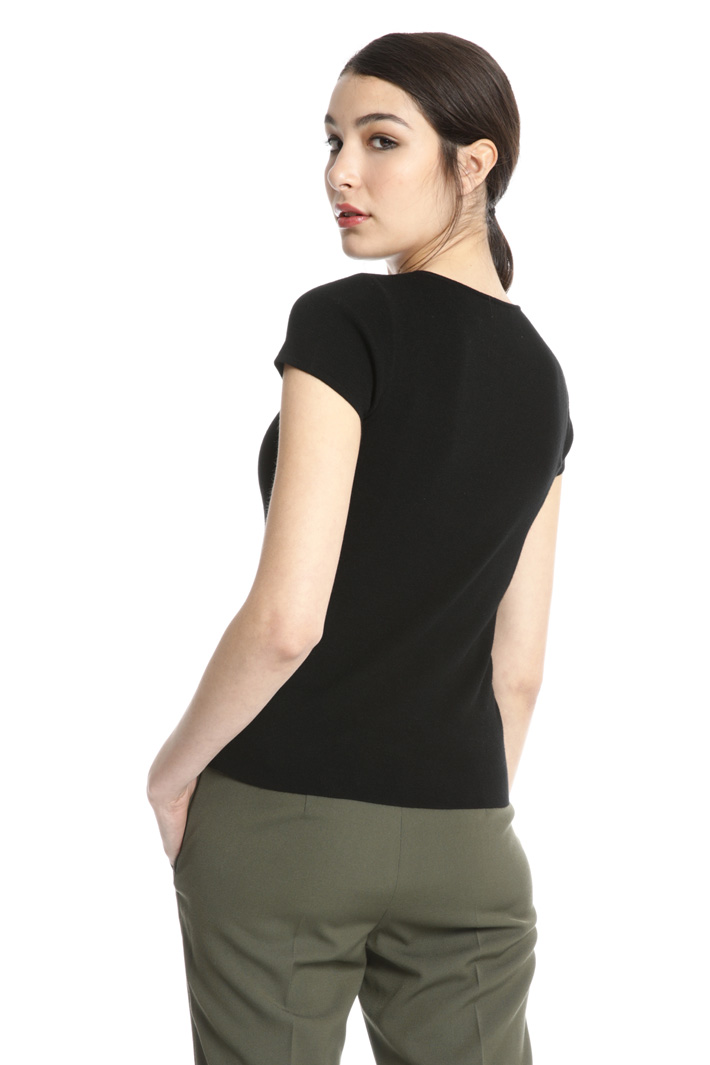 Knitted viscose top Intrend
