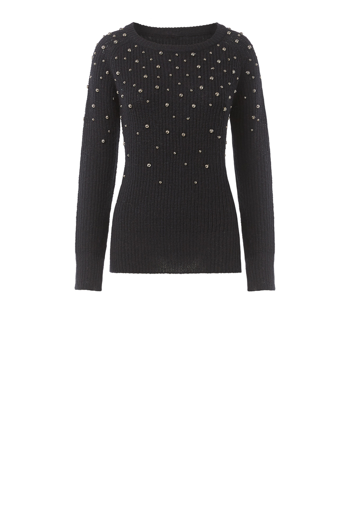 Jewel embroidered jumper Intrend