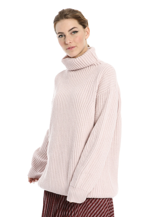 Ribbed oversized jumper Intrend