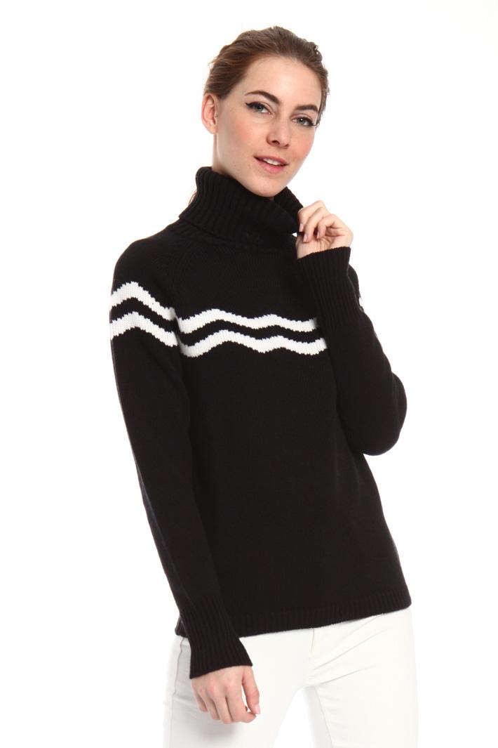 Virgin wool turtleneck sweater Intrend