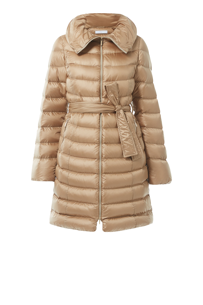 Shimmering canvas down coat Intrend