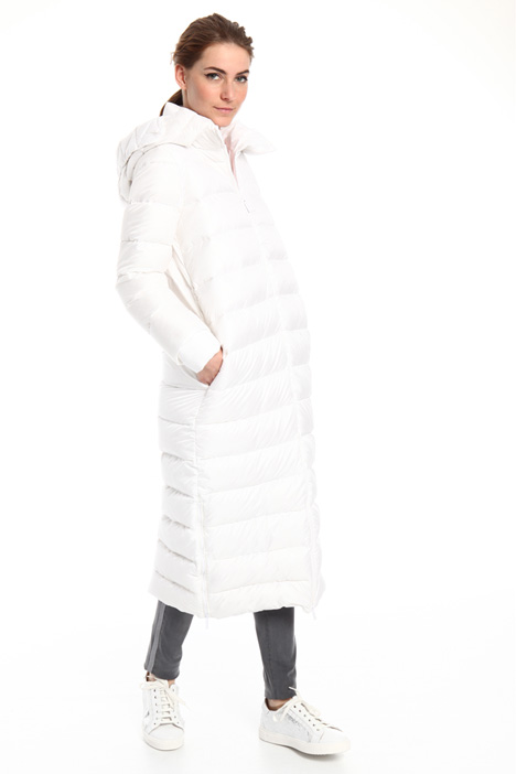 Long hooded down coat Intrend