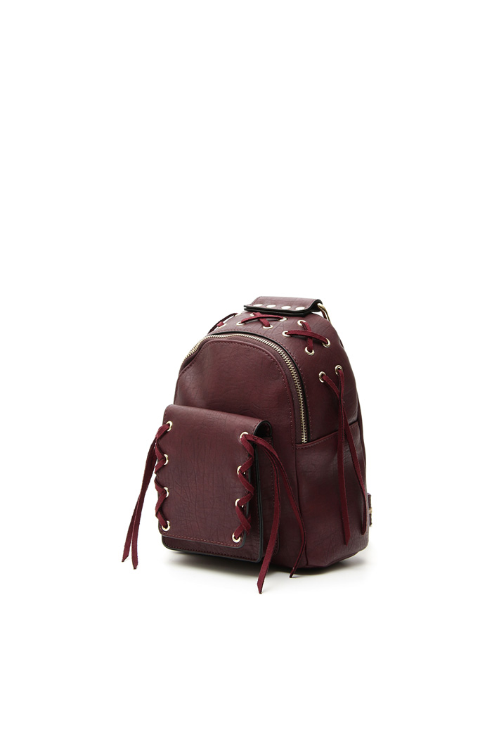Backpack with crossed laces Intrend