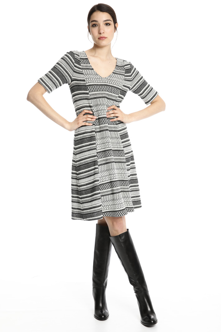 Cotto jersey dress Intrend