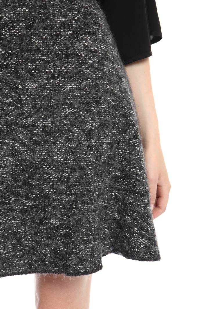 Tweed-effect skirt Intrend