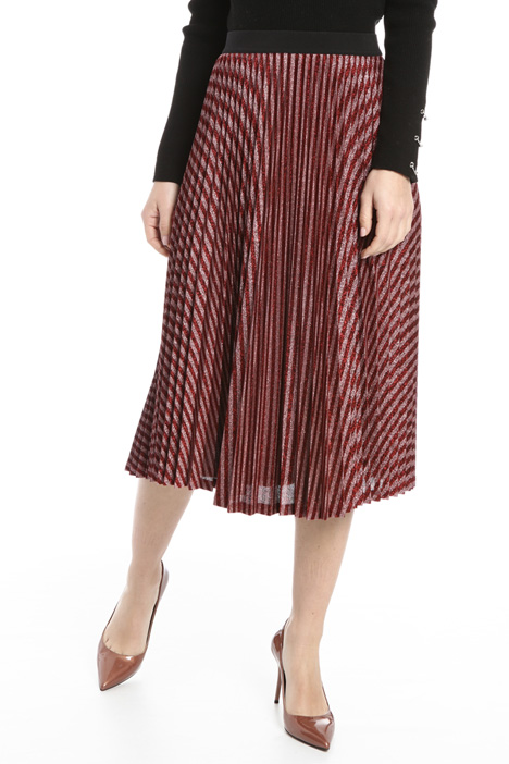 Lurex jersey skirt Intrend