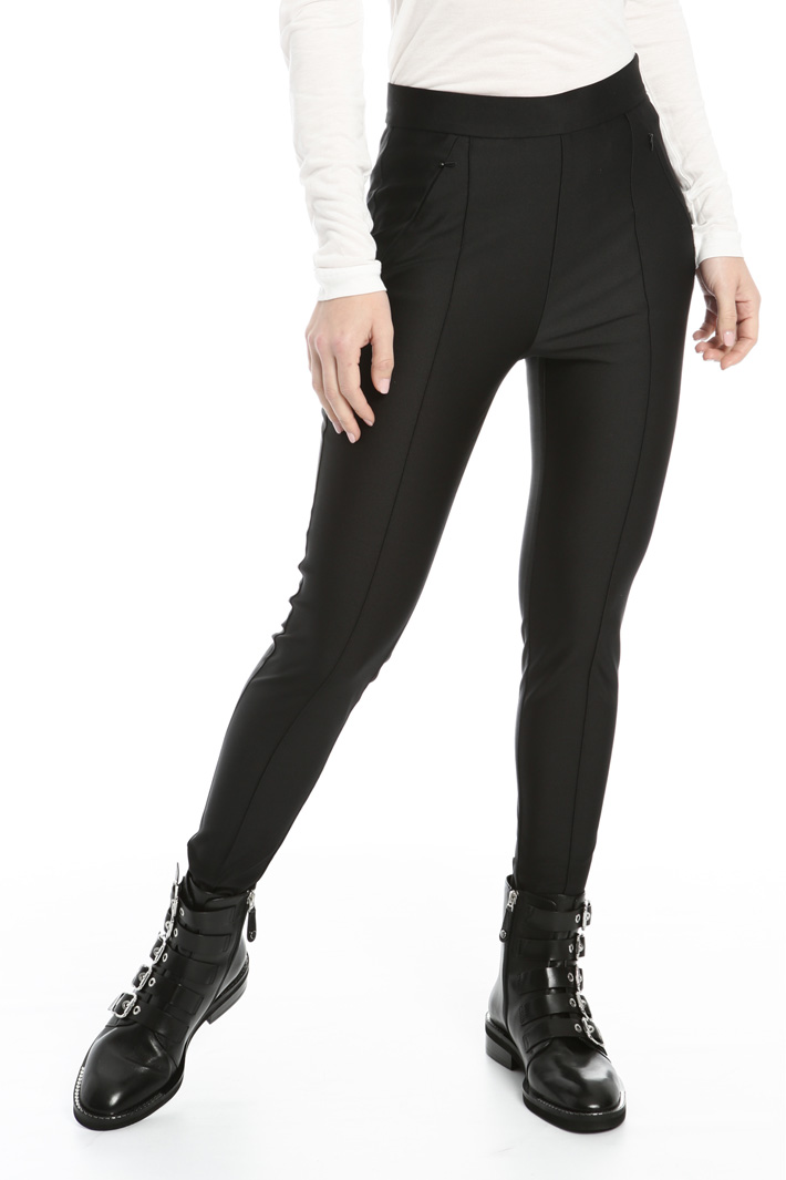 Stirrup jersey leggings Intrend
