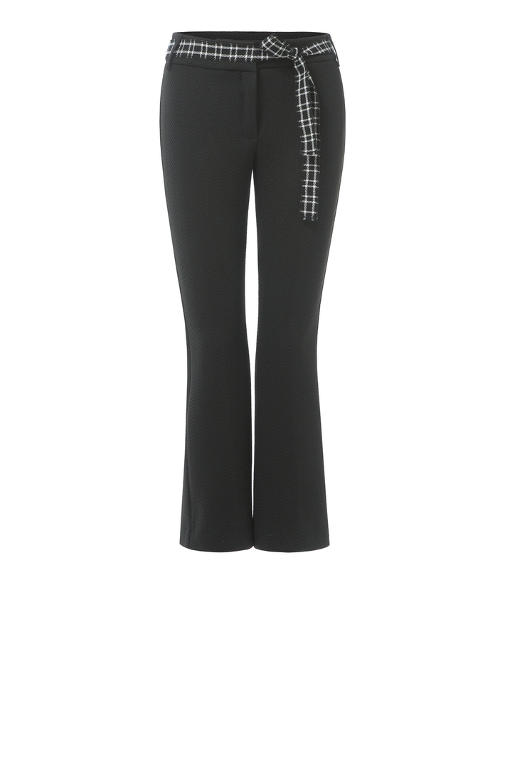 Matelasse jersey trousers Intrend