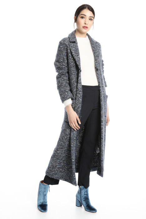 Jacquard jersey coat Intrend