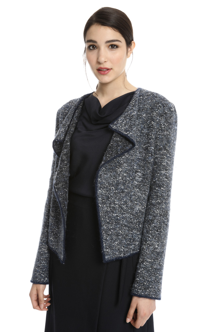 Tweed effect jacket Intrend