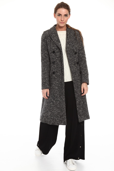 Boucle jersey coat Intrend