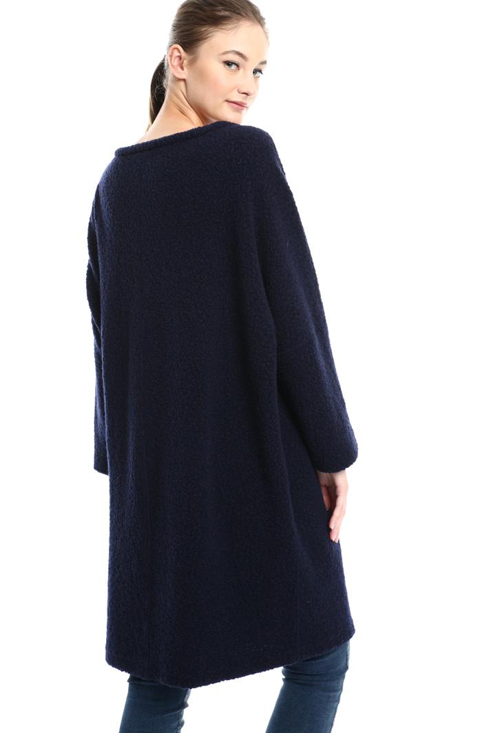 Bouclé jersey dress Intrend