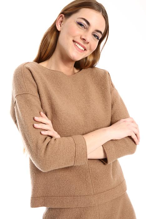 Bouclé jersey sweatshirt Intrend