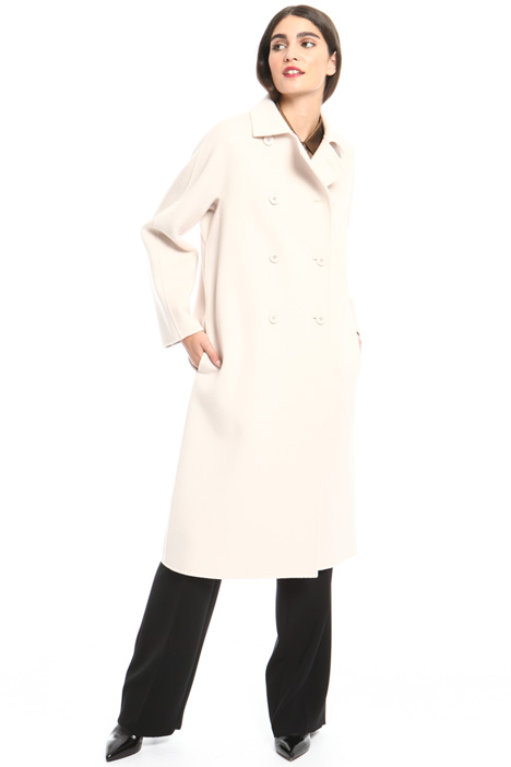 Long coat with collar Intrend