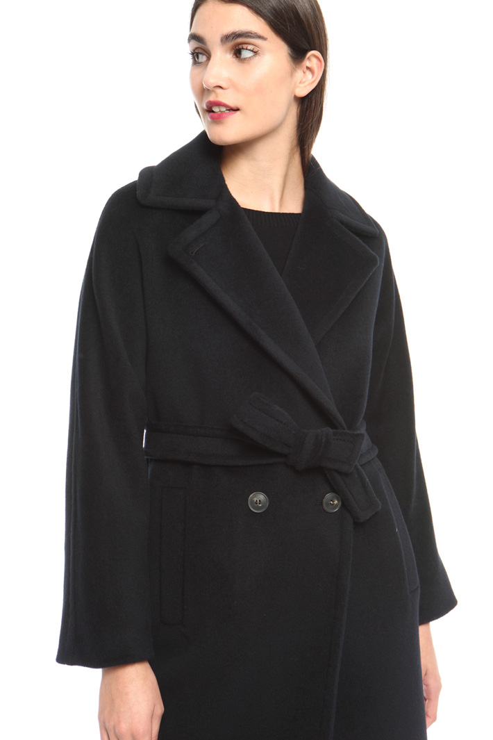 Double-breasted wool coat Intrend