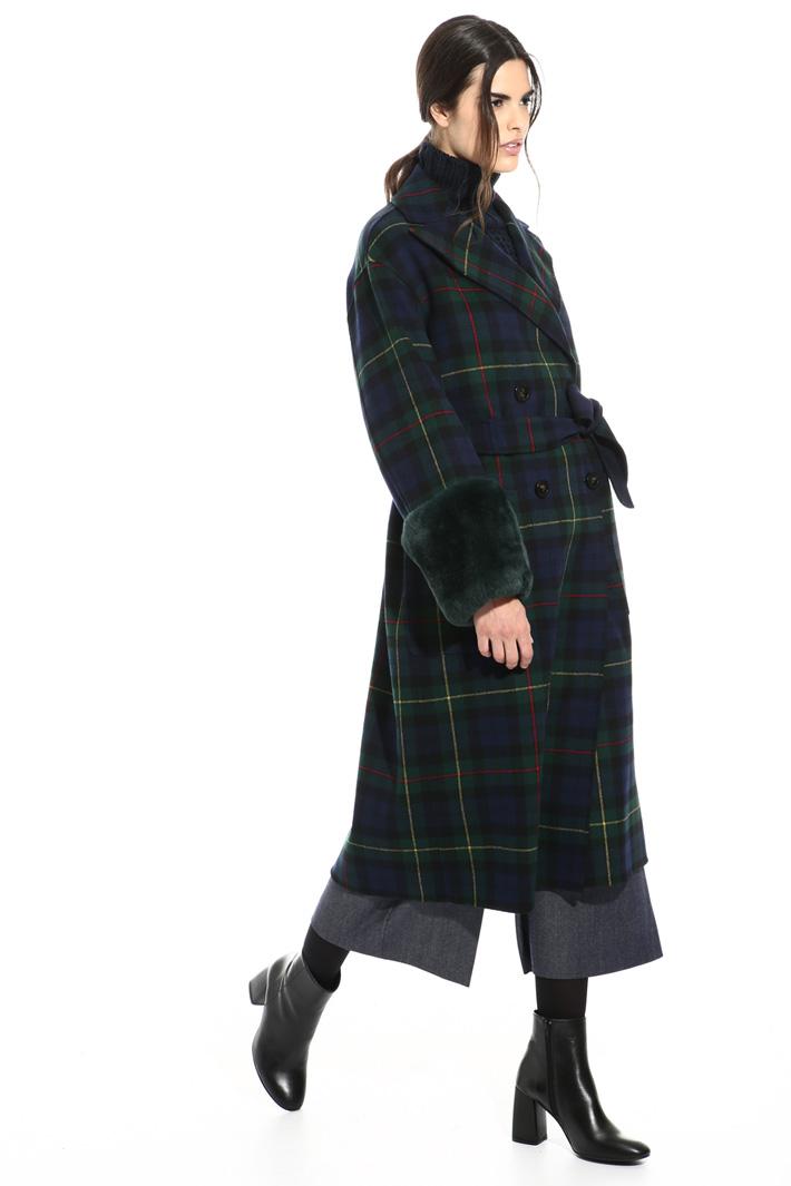 Lapin cuff coat Intrend