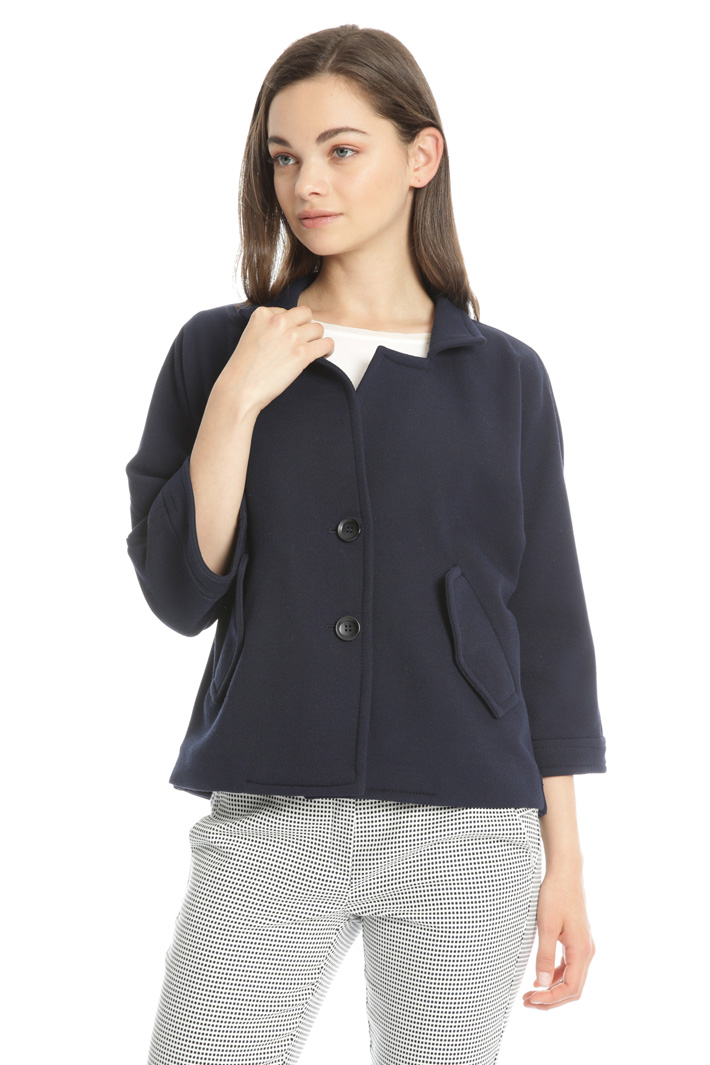 Jersey pique jacket Intrend