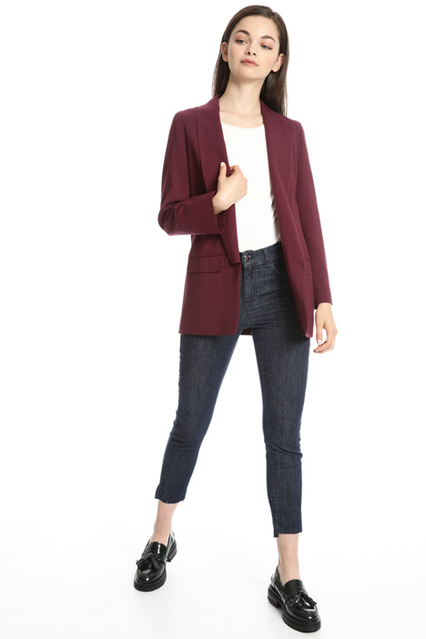 Viscose and wool blazer Intrend