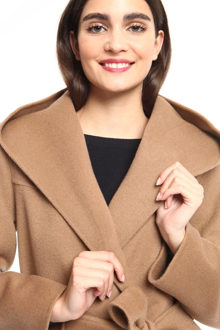 Destructured wool coat Intrend