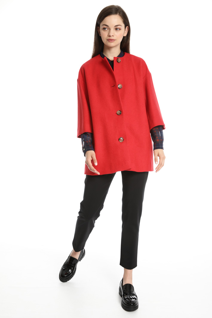 Short wool coat Intrend