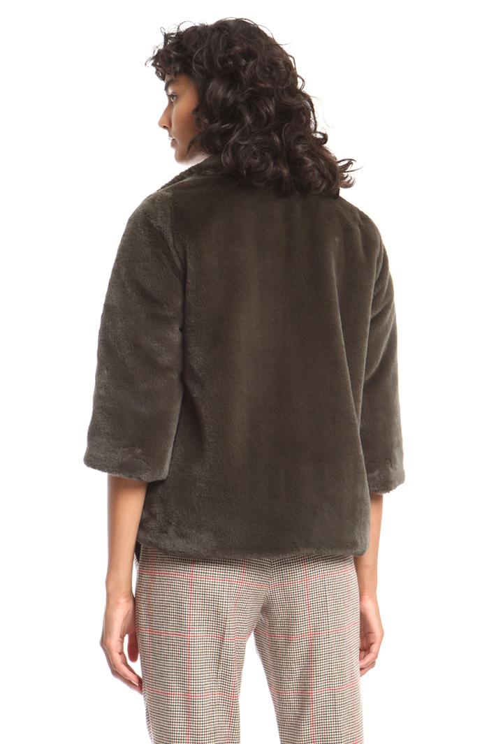 Fur-effect jacket Intrend