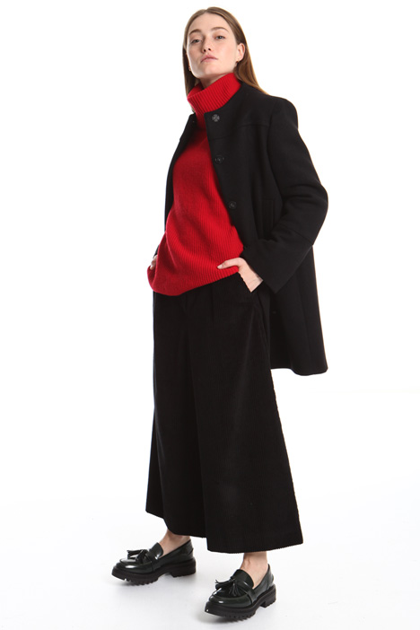 Crew neck wool coat Intrend