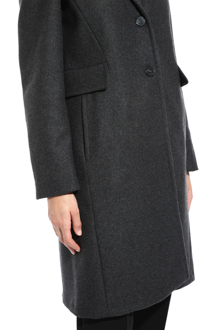 Wool and cashmere coat Intrend