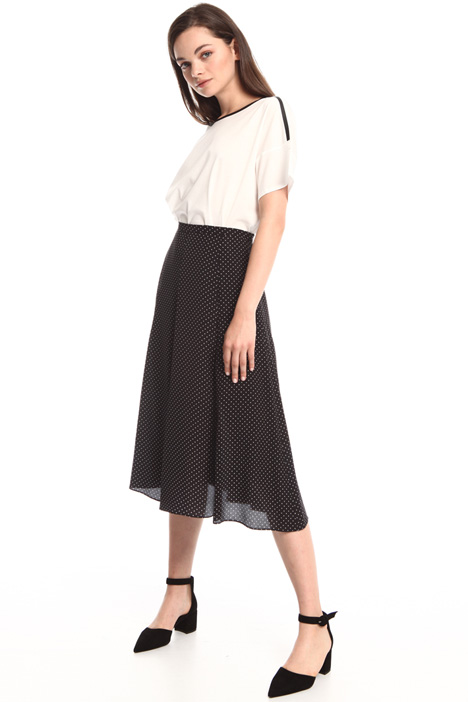 Silk crepe skirt Intrend